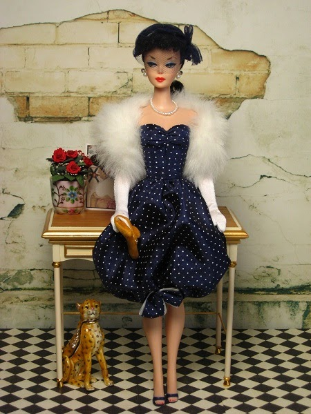 The Couture Touch Barbie Returns To 1950 S Glamour