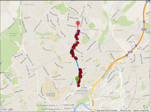 Cara Menampilkan Lokasi Pada Rute Yang Dipilih di Google Maps PHP