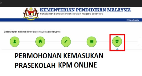 Pendaftaran PraSekolah KPM 2019 Online
