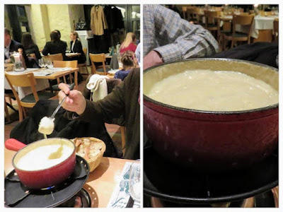 Things to do in Zurich in winter: eat fondue at Le Dezaley