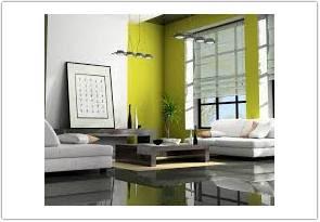 contoh warna cat ruang tamu menurut feng shui