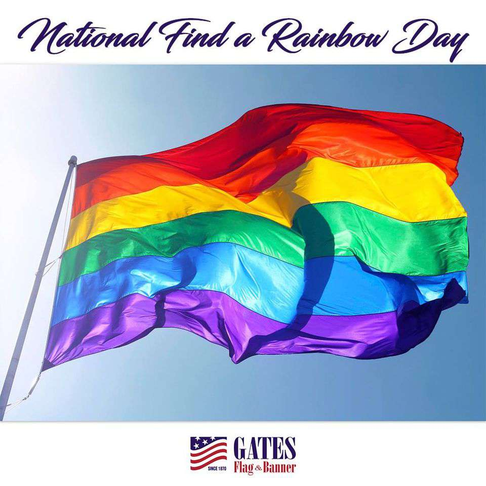 National Find a Rainbow Day Wishes Images