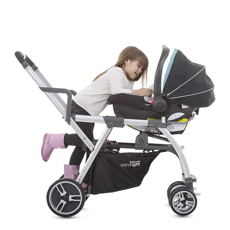 Caboose Varylight Stand On Tandem Stroller By Joovy Review