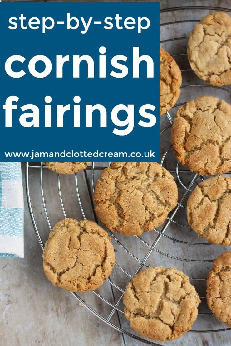 step by step Cornish fairings