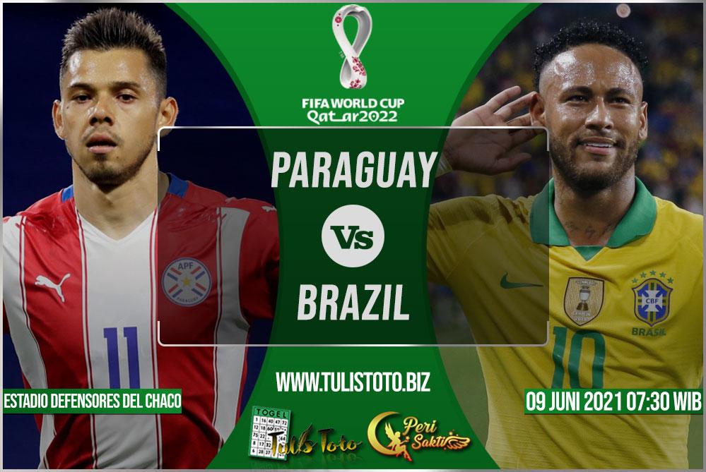 Prediksi Paraguay vs Brazil 09 Juni 2021