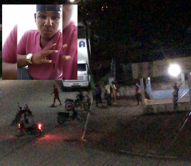 Jovem é morto a tiros no centro do distrito do São José do Itapora em Muritiba/BA