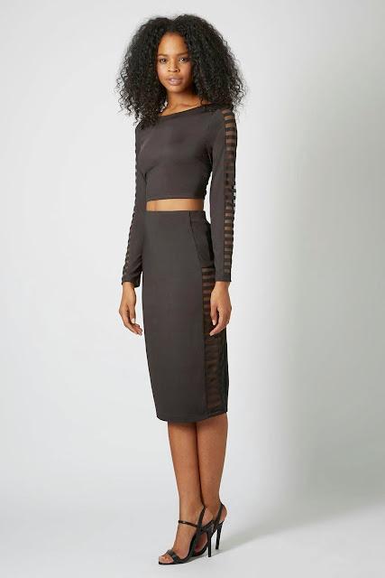 see through panel skirt