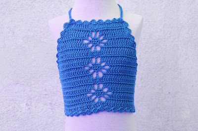 5 - Crochet Imagen Top playero a crochet y ganchillo por Majovel Crochet