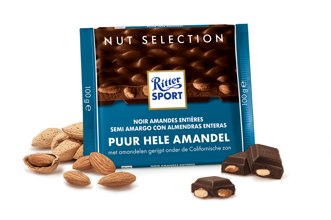 Ritter sport nut selection