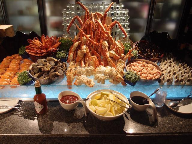 Seafood on Ice - old photo