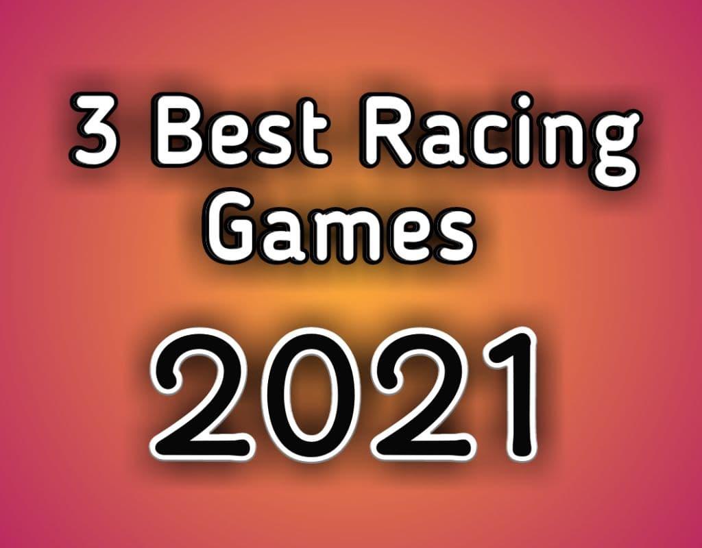 top 3 racing games, Racing in car 2 ,Asphalt nitro, turbo league