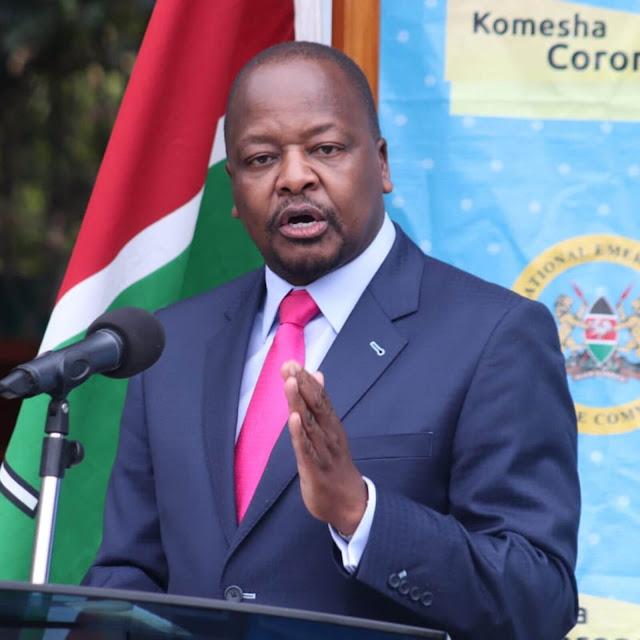 CS Mutahi Kagwe photo