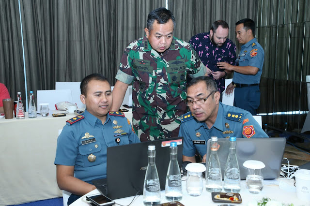 Wakil Komandan Satsiber TNI Tinjau Pelaksanaan Latihan Keamanan Cyber