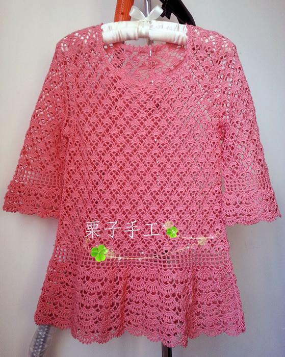wzory sukieneczek szydełkiem