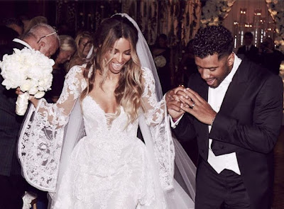 Russel Getting Married with Ciara