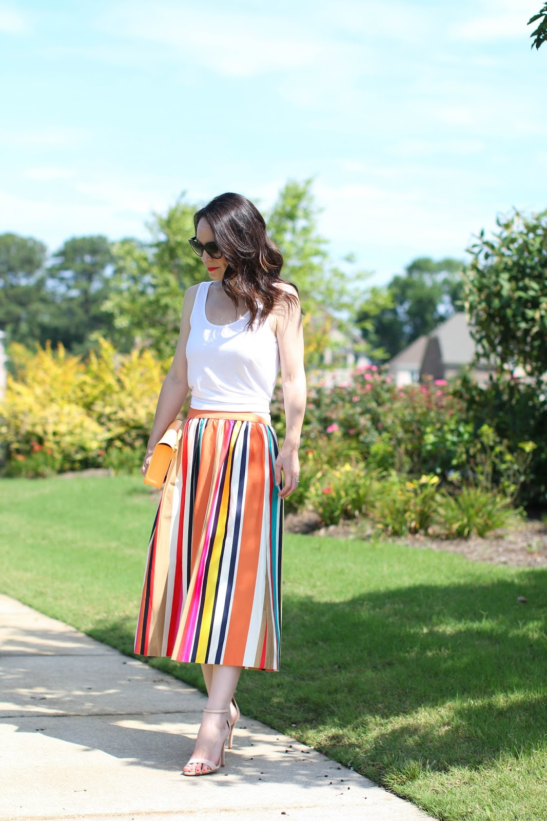 Alice & Olivia Nikola maxi skirt