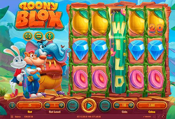 Main Gratis Slot Indonesia - Loony Blox Habanero