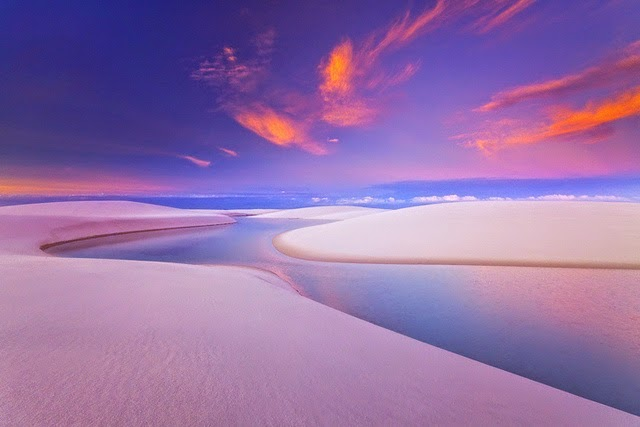 #16. Lençóis Maranhenses, located in Brazil. - 19 Secret Travel Destinations You Never Knew Existed… Almost Nobody Knows About #17.