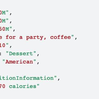 طريقة تطبيق البيانات المنظمة