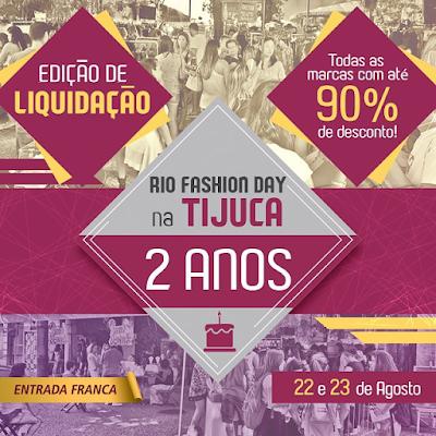 Flyer Rio Fashion Day Tijuca