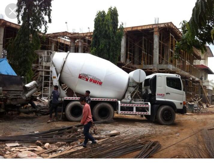 sewa pompa beton dan readymix harga murah 2019