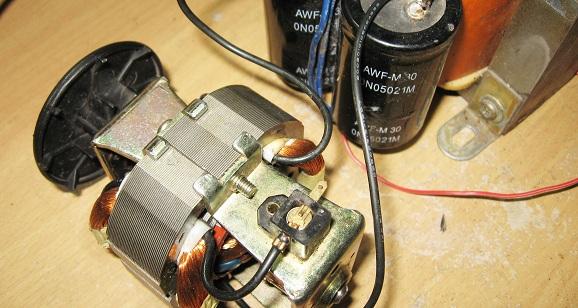 Bagian – bagian dinamo motor blender dan cara memasangnya