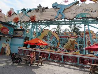 Primeval Whirl Ride Disney's Animal Kingdom