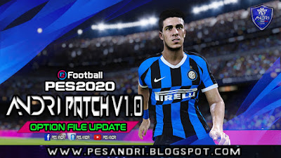 PES 2020 Option File For Andri Patch 2020 By Sofyan Andri