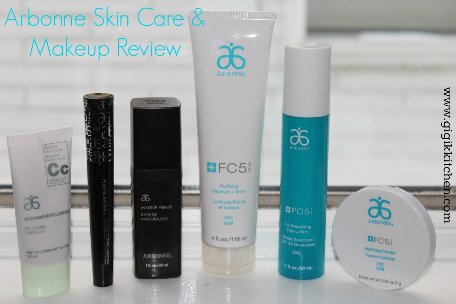 arbonne makeup skin care beauty brands gigi most