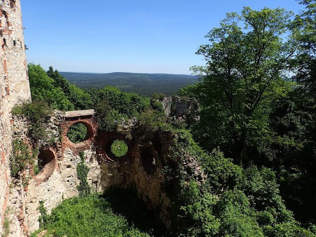Na zamku Tenczyn w Rudnie (okolice Krakowa)