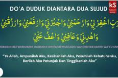 Perhatikan dan Hayati Doa antara Dua Sujud.
