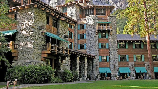 The Ahwahnee shines as Yosemite National Park's distinctive AAA(R) Four-Diamond hotel. Known for its magnificent façade and architecture, The Ahwahnee was specially designed to highlight its natural surroundings, which include Yosemite Falls, Half Dome, and Glacier Point.