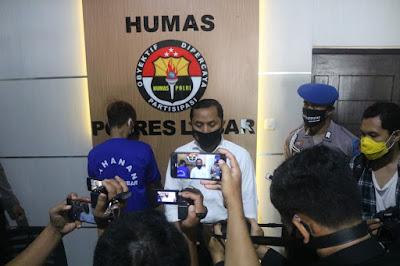 Tim Puma Polres Lombok Barat Bekuk Terduga Pelaku Curat