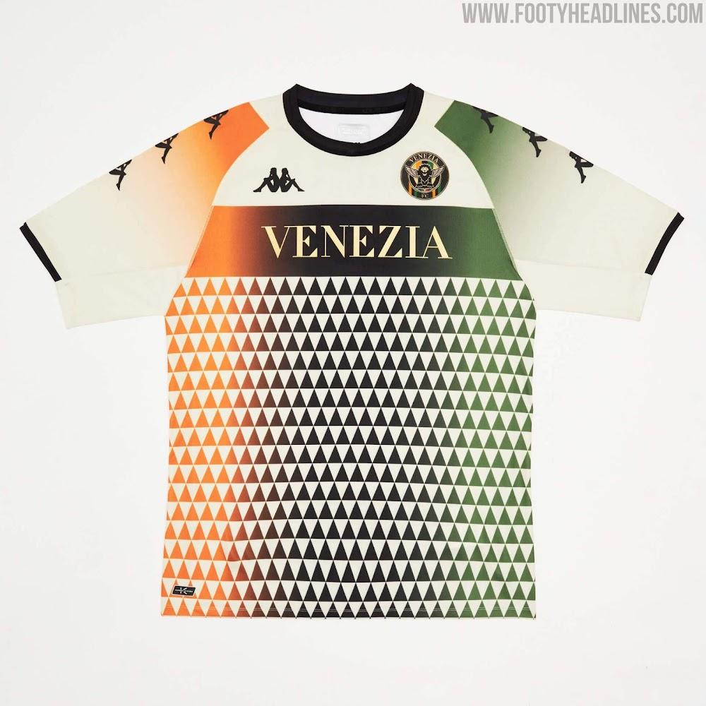 Venezia FC 21-22 Away Kit Released - Footy Headlines
