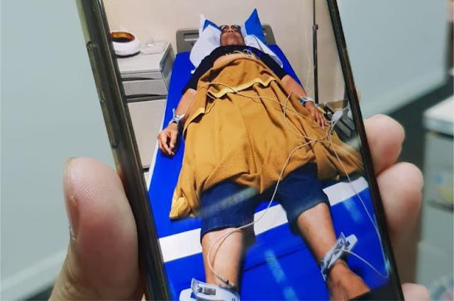 Foto Ali Ngabalin Terbaring di Rumah Sakit Viral, Begini Klarifikasinya