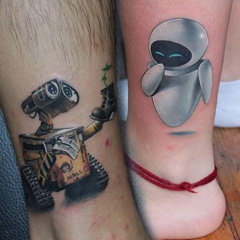 45 Mejores Tatuajes Para Parejas Y Su Significadotop 2019