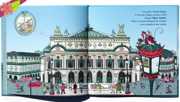 Une aventure de Violette Mirgue - Le Ballet des Couleurs à Paris de Marie-Constance Mallard - éditions Privat