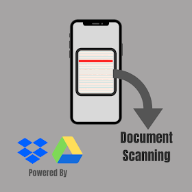 How to scan a document into Google Drive and Dropbox