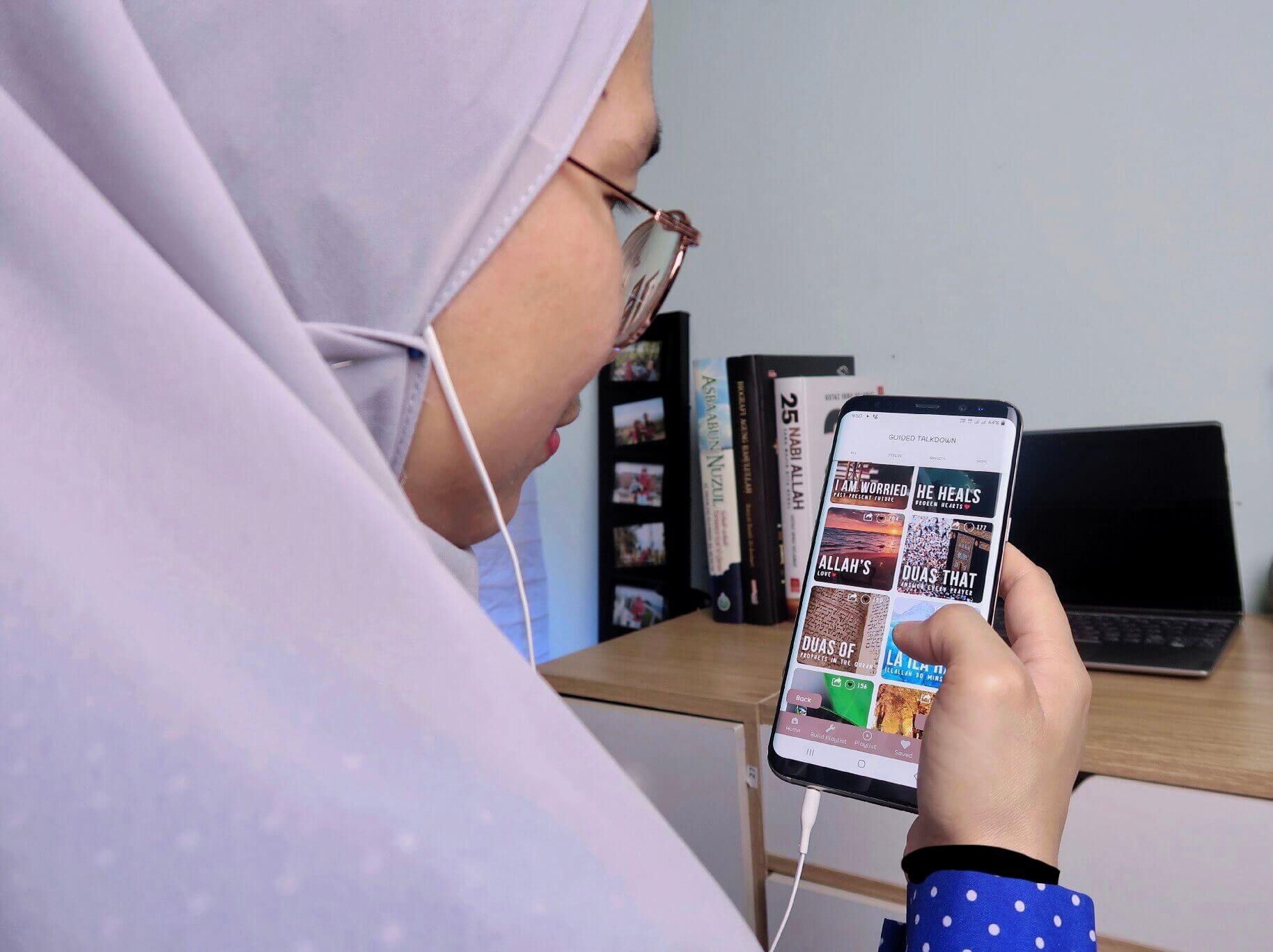 Kawal Tekanan, Keresahan dan Depresi Dengan Terapi Jiwa Aplikasi Mindful Muslim