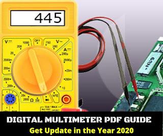 how to use digital multimeter for mobile repairing pdf