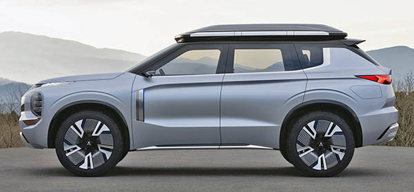 Burlappcar 2021 Mitsubishi Outlander Vs Engelberg Tourer Concept