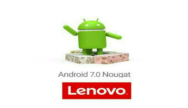 Lenovo android nougat