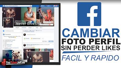como cambiar foto de perfil facebook