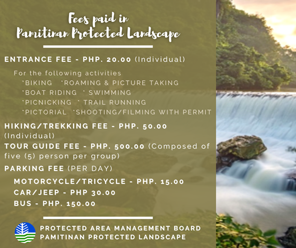 Mt. Pamitinan | Mt. Binicayan | Mt. Hapunan Banoy Hiking Fees and rates