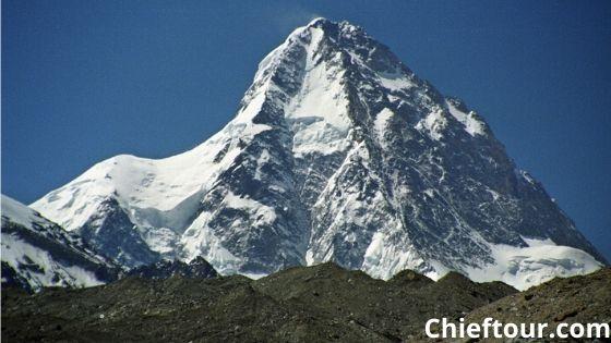 K2, the highest peak of Pakistan: