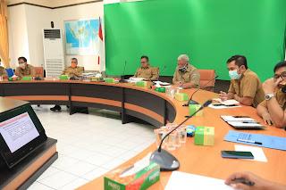 Rapat Koordinasi Terkait Penanganan, Penataan dan Pengembangan Aset Pusat Perbelanjaan/Taman Hiburan Masyarakat Tarakan - Tarakan Info