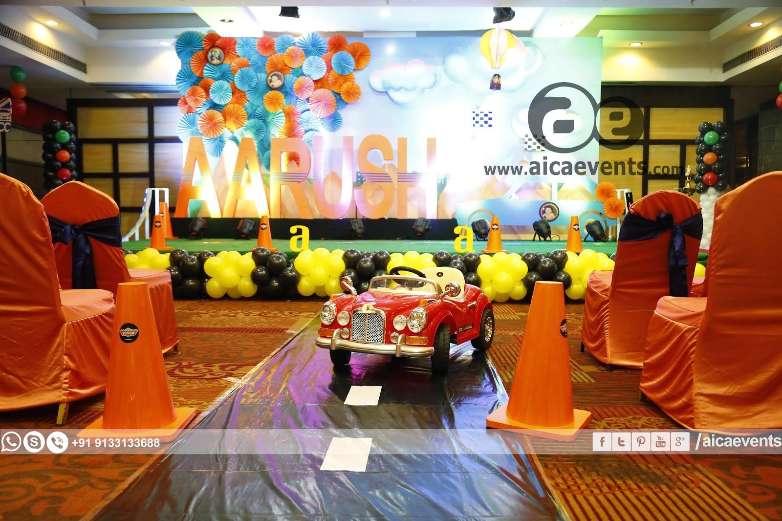 Aicaevents India Aarush 1st Birthday Celebrations