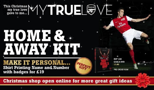 Arsenal lança campanha de Natal 4e452d4fa5e2b