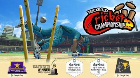 World Cricket Championship 2 Mod Apk WWC2 Game Everything Unlocked