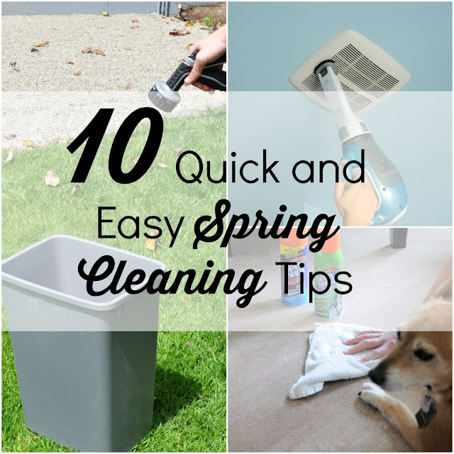 10 Quick and Easy Spring Cleaning Tips